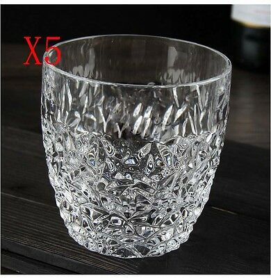 New 5X Capacity 300ML Height 91MM Lead Free Whisky Wine Glass/Glassware %