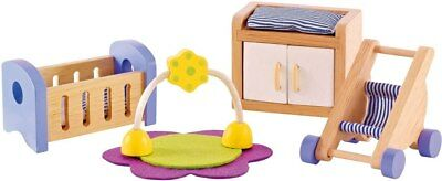 New Hape All Seasons Doll Furniture - Baby Room Childrens Toy