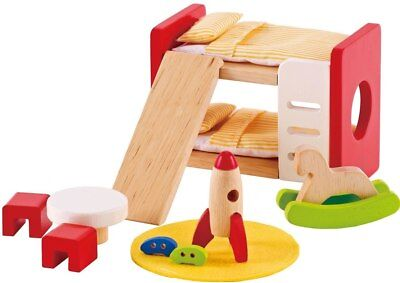 New Hape All Seasons Doll Furniture - Child's Bedroom Childrens Toy