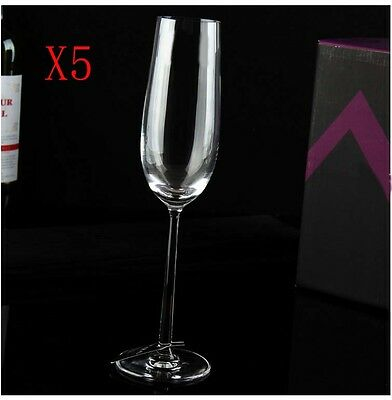 New 5X Capacity 270ML Height 270MM High Foot Champagne Wine Glass/Glassware %