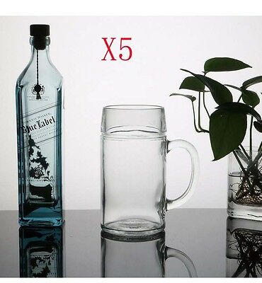 New 5X Capacity 1000ML Height 201MM Large Size Beer Wine Glass/Glassware %