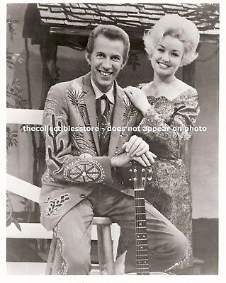 Dolly Parton & Porter Wagoner Country Music Singer Songwriter Duo 8 X 10 Photo