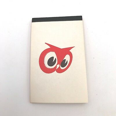 Vintage Red Owl Grocery Food Store Advertising Note Pad