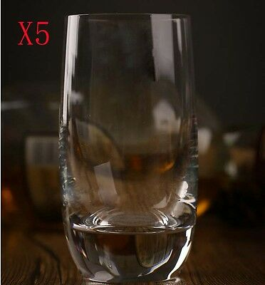New 5X Capacity 415ML Height 143MM Transparent Whisky Wine Glass/Glassware %