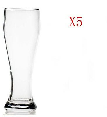 New 5X Capacity 665ML Height 233MM Transparent Beer Glass/Glassware %