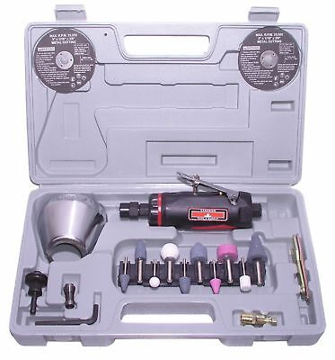 Canadian Tool and Supply 3-Inch Air Cut Off Tool & 1/4-Inch Die Grinder Kit a...