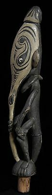 New Guinea Anthropomorphic form Lime container stopper