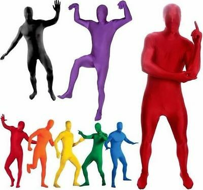 Adult Men Women Spandex Costume Full Body Suit Zentai Morph Invisible Jumpsuits