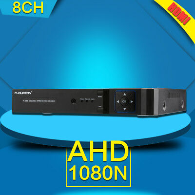 8CH Channel 1080N HDMI Video Surveillance Security System CCTV NVR DVR Recorder