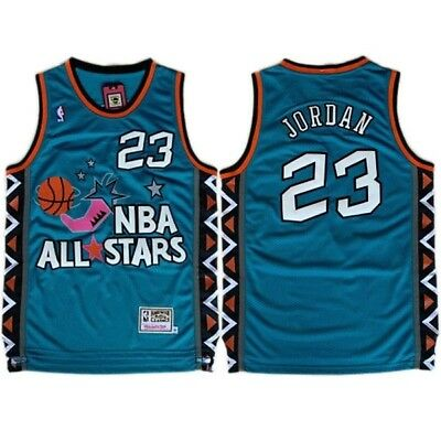 timeless design 06e3f d1b61 nba 1992 all star 23 michael jordan blue swingman throwback ...