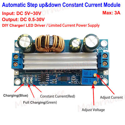DC Automatic Step-up/down Boost Buck Constant Voltage Current Regulator Module