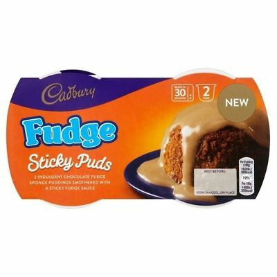 Cadbury Fudge Sponge Pudding 2 per pack