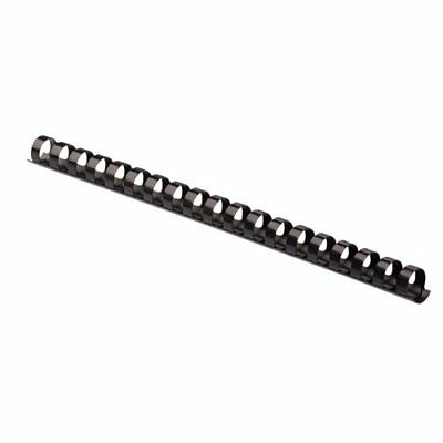 "Fellowes 52327 Plastic Comb Bindings, 5/8"" Diameter, 120 Sheet Capacity, Black ("