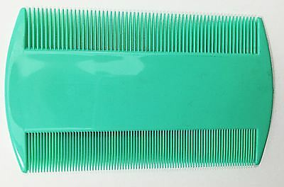 Set of 2 Indian Natural Head Lice Comb Lice Kanghi Assorted Color Free Shipping