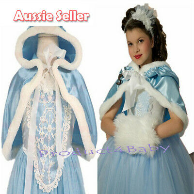 Girl Cinderella Dresses Costume Long Tulle Pageant Prom Ball Gown Dress 2-8 Yrs