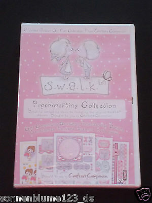 Crafters Companion Swalk Papercrafting Collection -  1 CD-ROM NEU/OVP