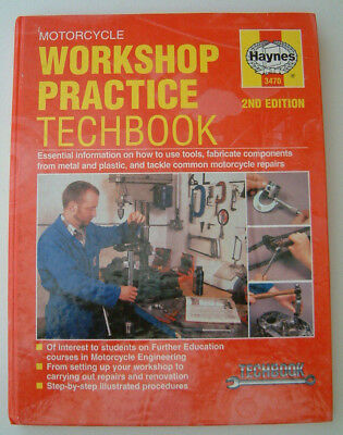 Haynes Motorcycle Workshop Practice Techbook Freepost