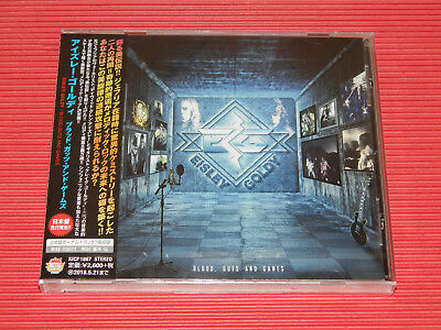2017 JAPAN CD EISLEY / GOLDY Blood , Guts And Games with Bonus Track