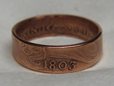 1803 large cent coin ring....wow!!!!