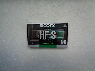 Vintage Audio Cassette SONY HF-S 90 * Rare From France 1988 *