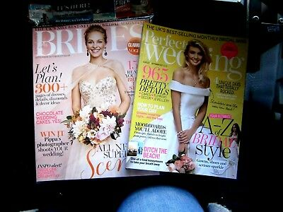 Perfect Wedding Magazine Sept  & Conde Nast Brides Magazine Sept/Oct  2017 (new)