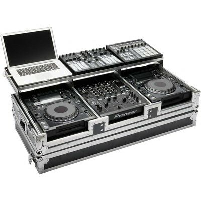 MAGMA CDJ WORKSTATION 2000/900 NEXUS flightcase per 2 cd player + mixer + laptop