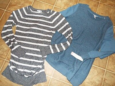 2 piece lot Liz Lange Maternity sweater lot Large XXL