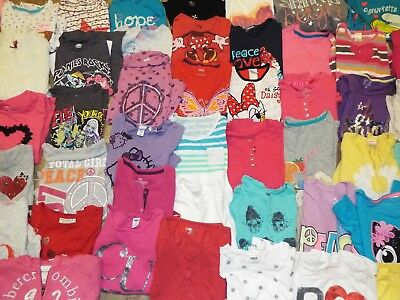 69 Pieces Girls size 7/8 mainly top lot pants skirts dress