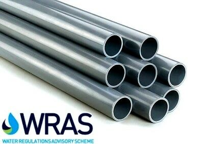 """PVC Pressure Pipe Solvent Weld 2 x 1.2m Imperial sizes: 1/2""""-3"""""""