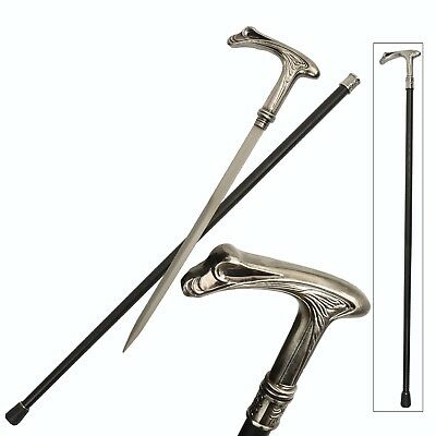 Crane Bird Walking Cane With Removable Blade!! NEW!!