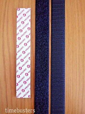 Sew On Tape Velcro Hook & Loop Sewing Strips For Fabric, Crafts, Dressmaking