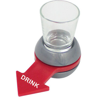 Spin The Shot Spinner Fun Adult Drinking Game After Dinner Party With Glass New