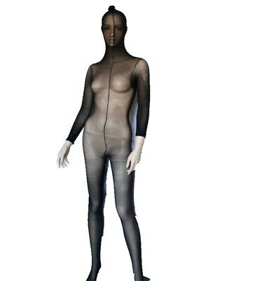 Sexy Stretchy Bodystocking Full Face Over Head Body Stocking Tights Pantyhose