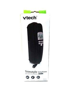 VTech CD1113 Trimstyle Phone with Caller ID and Landline Home Office (Black)