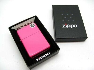 Zippo 28886 Full Size Neon Pink Finish Classic Windproof Lighter