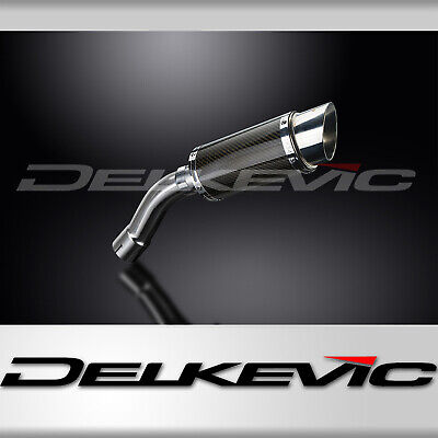 BMW F800 GT 2013-2018 200mm ROUND CARBON RACE SILENCER EXHAUST KIT