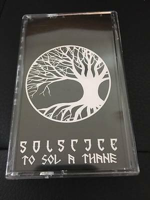 SOLSTICE – To Sol A Thane (NEW*LIM.TAPE*EPIC/DOOM METAL MASTERPIECE)
