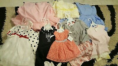 61 Piece Wholesale Girls Xmas Dresses Gowns for Wedding Size 0-3mth-16 years NWT