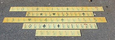 Laydown Graphics arrow wheel boardwalk game Seaside Heights NJ, hand painted