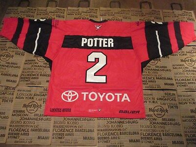 KÖLNER HAIE PINKTOBER Charity GAME-ISSUED Jersey #2 Potter