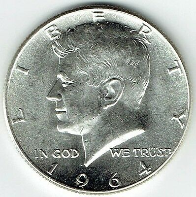 1964 P Kennedy Half Dollar 90% Silver US Mint (Exact Coin Shown) 211