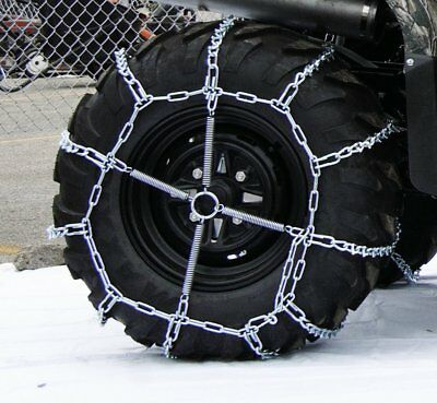 The ROP Shop New 2 Link TIRE Chains /& TENSIONERS 23x9.5x12 for Honda UTV ATV Wheeler Vehicle