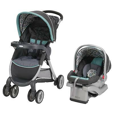 Graco® FastAction Fold® Click Connect™ Travel System - Affinia