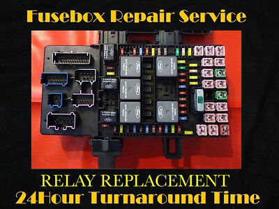 2003-2006 expedition / navigator bcm fuse box relay