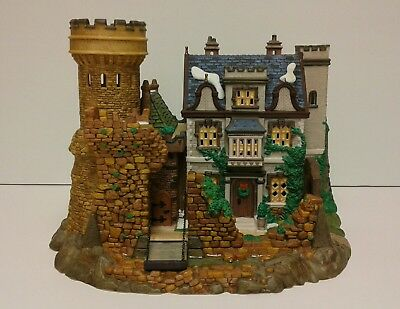 "Department 56 Dickens' Village Series ""SHEFFIELD MANOR"" w/box & light #58493"