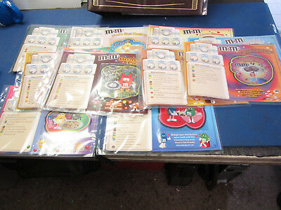 Willabee & Ward Patches M&m 12 Patch Collection Recipe Cards Lot With Binder