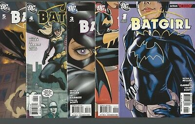 Batgirl 1 2 3 4 5 6 7 8 9 10 Complete Run 2009 Series Batman Reborn Family