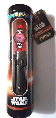 Firefly Star Wars Kylo Ren Lightsaber Timer Toothbrush In Collectible Gift Tin