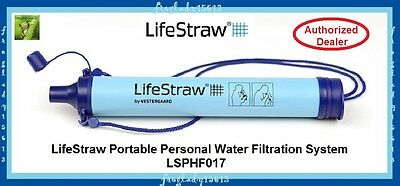 LIFESTRAW - Portable Personal Water Filtration System - LSPHF017 - AUTH DEALER!