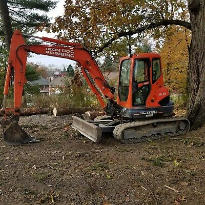 Kubota KX161-3S Excavator with Buckets